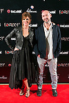 "Manuela Velasco and Jaume Balaguero attend the Premiere of the movie ""REC 4"" at Palafox Cinema in Madrid, Spain. October 27, 2014. (ALTERPHOTOS/Carlos Dafonte)"