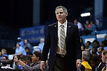 01 February 2015: Boston College head coach Erik Johnson. The University of North Carolina Tar Heels hosted the Boston College Eagles at Carmichael Arena in Chapel Hill, North Carolina in a 2014-15 NCAA Division I Women's Basketball game. UNC won the game 72-60.