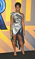 Clara Amfo at the &quot;Black Panther&quot; European film premiere, Hammersmith Apollo (Eventim Apollo), Queen Caroline Street, London, England, UK, on Thursday 08 February 2018.<br /> CAP/CAN<br /> &copy;CAN/Capital Pictures