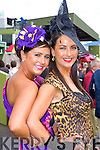 Dressed to impress at the Killarney Races ladies day on Thursday was l-r: Myra Greer Tralee and Denise Healy Killarney