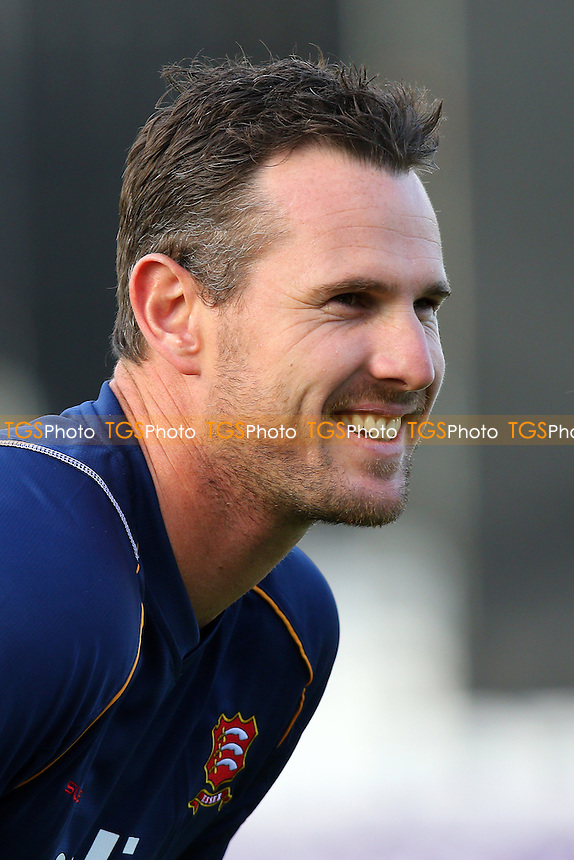 Shaun Tait of Essex looks on ahead of the start - Essex Eagles vs Essex Premier Leagues XI - T20 Cricket Friendly Match at the Essex County Ground, Chelmsford, Essex - 13/05/15 - MANDATORY CREDIT: Gavin Ellis/TGSPHOTO - Self billing applies where appropriate - contact@tgsphoto.co.uk - NO UNPAID USE