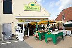 Woollen shop, Oudeschild, Texel, Netherlands,