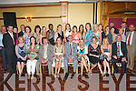 End of an Era -The last Christian Brother teaching in Kerry, Brother Fred Doherty originally from Currow, seated centre, pictured at his retirement party with former workmates from Tralee CBS primary on Friday night in The Meadowlands Hotel.   Copyright Kerry's Eye 2008
