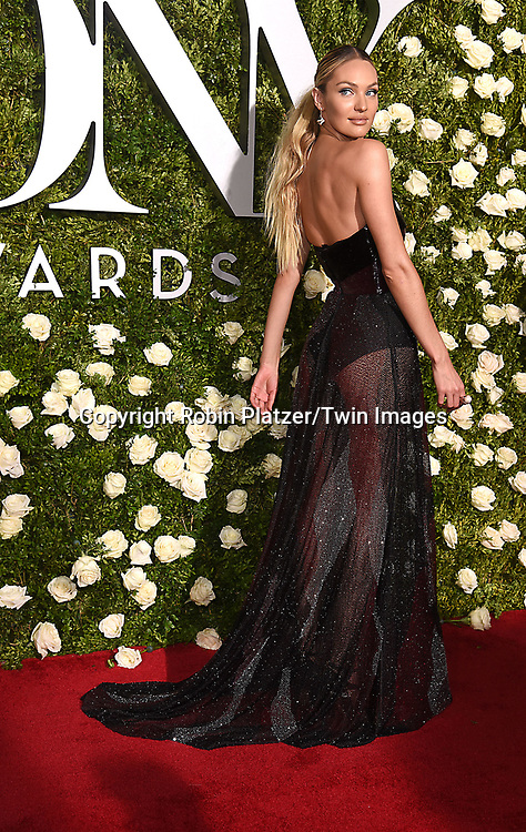 Candace Swanepoel attends the 71st Annual  Tony Awards on June 11, 2017 at Radio City Music Hall in New York, New York, USA.<br /> <br /> photo by Robin Platzer/Twin Images<br />  <br /> phone number 212-935-0770