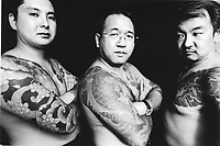 FORMER YAKUZA TURNED TO PREACHERS. CHRISTIAN YAKUZA GROUP CALLED MISSION BARABBAS IN TOKYO JAPAN