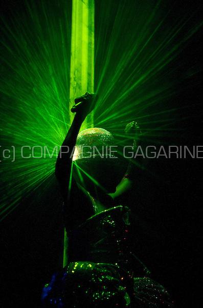 The premiere show of Grace Jones' new 2010 European concert tour in Utrecht (Holland, 13/04/2010)