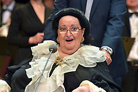 Montserrat Caballe<br /> Perfomance at State Kremlin palace, Moscow, Russia on June 06,  2018.<br /> **Not for sale in Russia or FSU**<br /> CAP/PER/EN<br /> &copy;EN/PER/Capital Pictures