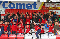Fans look forward to the match during Stevenage vs Notts County, Sky Bet EFL League 2 Football at the Lamex Stadium on 11th November 2017