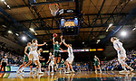 SIOUX FALLS, SD - NOVEMBER 29: Laken James #5 from Wisconsin Green Bay takes the ball to the basket against South Dakota State University during their game Thursday night at Frost Arena in Brookings. (Photo by Dave Eggen/Inertia)
