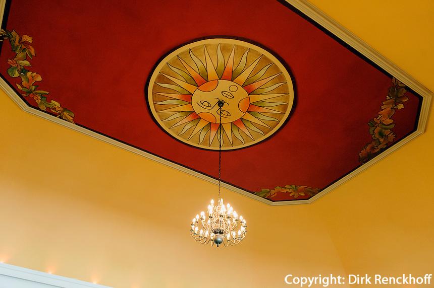 Jugendstildecor im Grandhotel in Sopot (Zoppot), Woiwodschaft Pommern (Wojew&oacute;dztwo pomorskie), Polen, Europa<br /> Art nouveau in Grandhotel in Sopot, Poland, Europe
