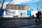 Milano, gennaio 2014, Lavori in corso sulla Darsena. <br /> Work in progress