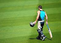 130214 International Cricket - NZ Training