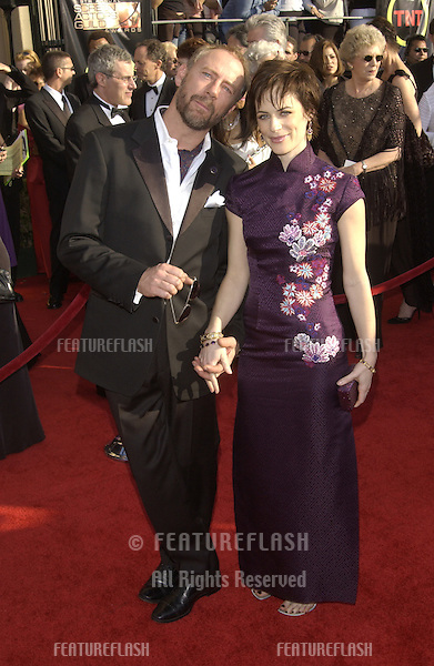 SARAH CLARKE & husband XANDER BERKELEY at the 9th Annual SCREEN ACTORS GUILD AWARDS in Los Angeles..March 9, 2003.