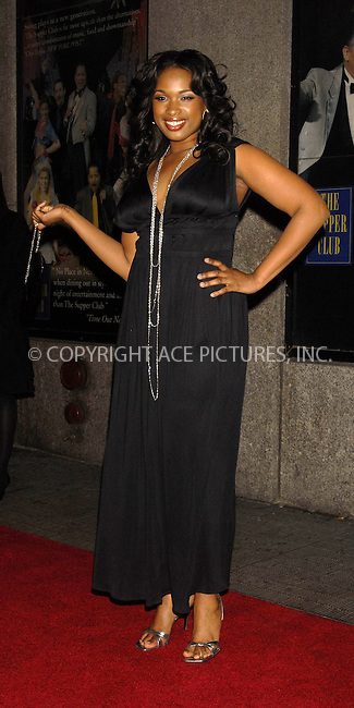 WWW.ACEPIXS.COM . . . . ....December 7, 2007, New York City....Jennifer Hudson attends the NY Film Critics Awards at the Supper Club.....Please byline: KRISTIN CALLAHAN - ACEPIXS.COM.. . . . . . ..Ace Pictures, Inc:  ..(212) 243-8787 or (646) 679 0430..e-mail: picturedesk@acepixs.com..web: http://www.acepixs.com