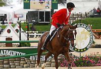 Peter Atkins and #23 Henry Jota Hampton from Australia at the Rolex Three Day Event.  April 28, 2013..