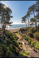 BNPS.co.uk (01202 558833)<br /> Pic:  Luxury&Prestige/BNPS.<br /> <br /> Location, location, location...Seaside stunner in Bournemouth thats sits in its own idyllic Chine.<br /> <br /> A luxury seaside property that offers private access to a stunning seven mile beach has emerged for sale for £3.5.<br /> <br /> Cliff House, in Branksome Chime, Dorset sits at the top of a secluded path running all the way down to the stunning sandy shore.<br /> <br /> The four-bed home is so close that the owners can 'hear the waves' crashing into the land from the comfort of their bedrooms.