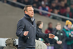 28.01.2018, HDI Arena, Hannover, GER, 1.FBL, Hannover 96 vs VfL Wolfsburg<br /> <br /> im Bild<br /> Andre / Andr&eacute; Breitenreiter (Trainer Hannover 96) in Coachingzone, <br /> <br /> Foto &copy; nordphoto / Ewert