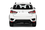 Straight rear view of a 2020 Mitsubishi Outlander Sport GT 5 Door SUV stock images