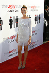 """HOLLYWOOD, CA. - July 16: Bree Turner arrives at the Los Angeles premiere of """"The Ugly Truth"""" held at the Pacific's Cinerama Dome on July 16, 2009 in Hollywood, California."""