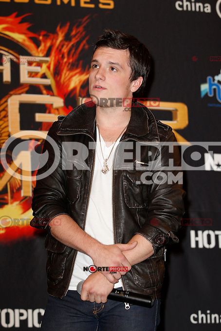 March 07, 2012: The Hunger Games cast of Josh Hutcherson, Isabelle Fuhrman and Jacqueline Emerson make appearance at the Westfield Fox Valley Mall in Aurora, Illinois. .Credit: Kamil Krzaczynski /MediaPunch Inc. /NortePhoto.com)<br />