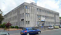 Pictured: Merthyr Tydfil police station<br /> Re: Police officer Jeremy Fowler who is accused of sexual assault is on trial at Swansea Crown Court.