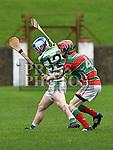 St. Fechin's Paddy Lynch, Wolfe Tones John Gaffney. Photo:Colin Bell/pressphotos.ie