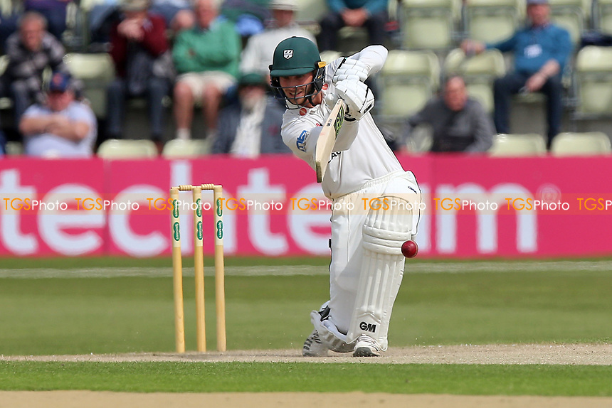 Tom Fell in batting action for Worcestershire during Worcestershire CCC vs Essex CCC, Specsavers County Championship Division 1 Cricket at Blackfinch New Road on 12th May 2018