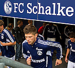 Duitsland, Gelsenkirchen, 22 september  2012.Seizoen 2012/2013.Bundesliga.Schalke 04-Bayern Munchen 0-2.Klaas Jan Huntelaar van Schalke 04 in actie