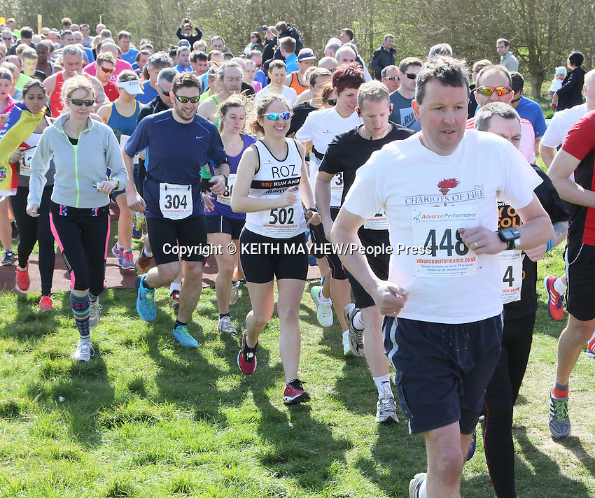Cambourne 10K and Fun Run at Cambourne Business Park, near Cambridge, England on April 12th 2015<br />