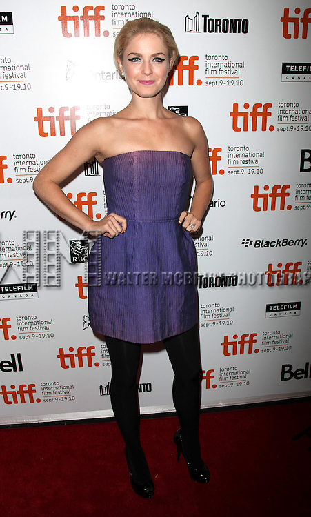 """Whitney Able.attending the """"TOWN"""" gala premiere during the 35th Toronto International Film Festival at Roy Thomson Hall on September 11, 2010 in Toronto, Canada..© Walter McBride /"""