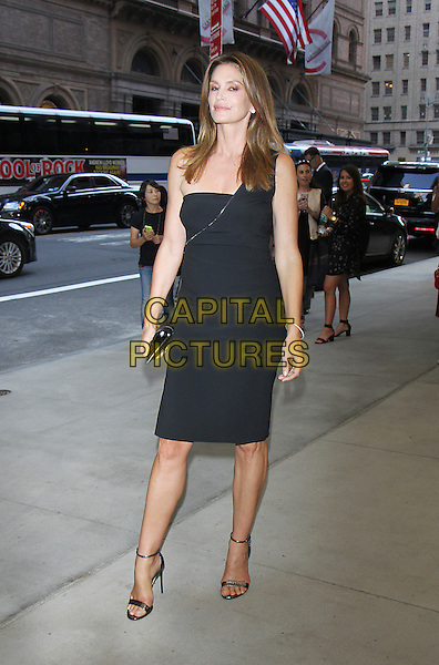 NEW YORK, NY-September 08: Cindy Crawford at Daily Front Row Fashion Media Awards at Park Hyatt in New York. NY September 08, 2016. <br /> CAP/MPI/RW<br /> &copy;RW/MPI/Capital Pictures