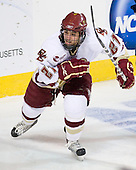Steven Whitney (BC - 21) - The Boston College Eagles defeated the Yale University Bulldogs 9-7 in the Northeast Regional final on Sunday, March 28, 2010, at the DCU Center in Worcester, Massachusetts.