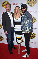 29 March 2017 - Las Vegas, NV - Denis Villeneuve, Ana De Armas, Jared Leto. 2017 Warner Brothers The Big Picture Presentation at CinemaCon at Caesar's Palace.  Photo Credit: MJT/AdMedia