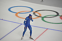 OLYMPIC GAMES: PYEONGCHANG: 19-02-2018, Gangneung Oval, Long Track, 500m Men, Jun-Ho Kim (KOR), ©photo Martin de Jong