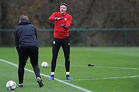 Wayne Hennessey of Wales during the Wales Training Session at The Vale Resort, Hensol, Wales, UK. Monday 19 November 2018