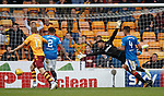 Wes Foderingham springs into action