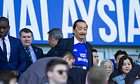 Cardiff City owner Vincent Tan ahead of the Sky Bet Championship match between Cardiff City and Reading at the Cardiff City Stadium, Cardiff, Wales on 6 May 2018. Photo by Mark  Hawkins / PRiME Media Images.