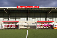The home and away dug outs during Harlow Town vs Dulwich Hamlet, Buildbase FA Trophy Football at The Harlow Arena on 11th November 2017