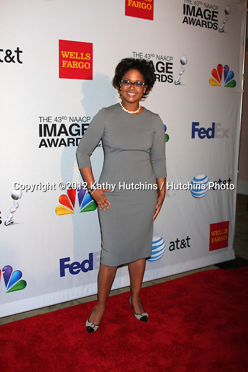 LOS ANGELES - FEB 11:  Tonya Lee Williams arrives at the NAACP Image Awards Nominees Reception at the Beverly Hills Hotel on February 11, 2012 in Beverly Hills, CA