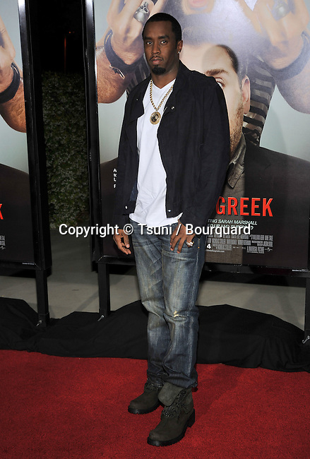 Sean Combs _44   -<br /> Get Him To The Greek Premiere at the Greek Theatre In Los Angeles.