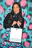 NEW YORK, NY - OCTOBER 19: Rosario Dawson attends KENZO x H&M - Arrivals at Pier 36 on October 19, 2016 in New York City. Credit: John Palmer / MediaPunch