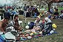 Syria 2000<br /> Damascus: Kurds of Turkey celebrating Nowruz in a garden <br /> Syria 2000<br /> Kurdes de Turquie pique-niquant dans un jardin de Damas a l'occasion de Nowruz<br /> سووریا سالی 2000 ، کوردانی سووریا به بونه ی نه وروز له باخیکی له ده مشق دا سه یران ده که ن .