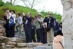 Tourists At Ephesus