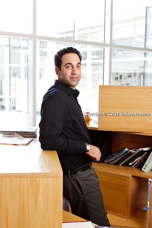 Portraits of Obadiah Greenberg - business development manager, Google Apps for Education Executive portrait photographs by San Francisco Bay Area - corporate and annual report - photographer Robert Houser. 2010 pictures.