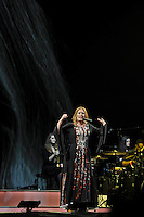 SHEPTON MALLET, ENGLAND - JUNE 25: Adele performing on The Pyramid Stage at Glastonbury Festival, Worthy Farm, Pilton, on June 25, 2016 in Shepton Mallet, England.<br /> CAP/MAR<br /> &copy;MAR/Capital Pictures /MediaPunch ***NORTH AND SOUTH AMERICAS ONLY***