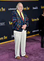 "LOS ANGELES, USA. November 15, 2019: M. Emmet Walsh at the premiere of ""Knives Out"" at the Regency Village Theatre.<br /> Picture: Paul Smith/Featureflash"