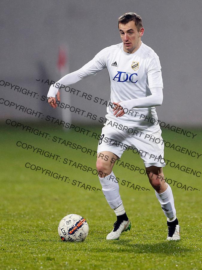 Branislav Jankovic Fudbal, Super liga Srbije, Cukaricki - Vozdovac 16.12.2015.<br /> 16. Decembar 2015. (credit image &amp; photo: Pedja Milosavljevic / STARSPORT)