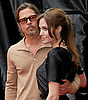 20.09.2016: BRANGELINA NO MORE - ANGELINA JOLIE FILES FOR DIVORCE FROM BRAD PITT<br /> Jolie filed for divorce from Pitt for 'the health of her family', two years after the couple wed at their French estate Chateau Miraval.The actress filed papers on Monday citing irreconcilable differences as the reason for the split and asking for physical custody of the couple's six children - Maddox, age 15; Pax, aged 12; Zahara, aged 11; Shiloh, aged 10; and twins Vivienne and Knox, aged eight.<br /> <br /> ANGELINA JOLIE AND BRAD PITT .attend the Los Angeles Premiere of &quot;Kung Fu Panda 2&quot; at the Grauman's Chinese Theatre, Hollywood, California_22/05/2011.<br /> Mandatory Photo Credit: &copy;Crosby/Newspix International..<br /> **ALL FEES PAYABLE TO: &quot;NEWSPIX INTERNATIONAL&quot;<br /> **..PHOTO CREDIT MANDATORY!!: NEWSPIX INTERNATIONAL(Failure to credit will incur a surcharge of 100% of reproduction fees)..<br /> IMMEDIATE CONFIRMATION OF USAGE REQUIRED:.<br /> Newspix International, 31 Chinnery Hill, Bishop's Stortford, ENGLAND CM23 3PS.<br /> Tel:+441279 324672  ; Fax: +441279656877.Mobile:  0777568 1153.<br /> e-mail: info@newspixinternational.co.uk