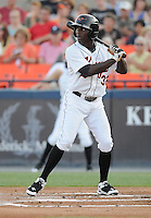 Xavier Avery of the Frederick Keys on July 23, 2010, at Harry Grove Stadium in Frederick, Md. Photo by: Tom Priddy/Four Seam Images