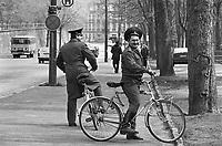 - Soviet army soldiers in Riesa town (German Democratic Republic), May 1991....- militari sovietici di stanza nella citta' di Riesa (Repubblica Democratica Tedesca), maggio 1991